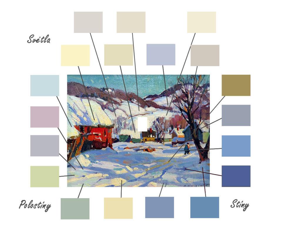 barvy sněhu1