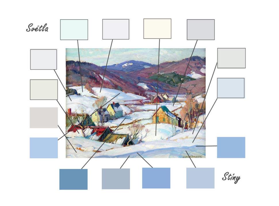 barvy sněhu2