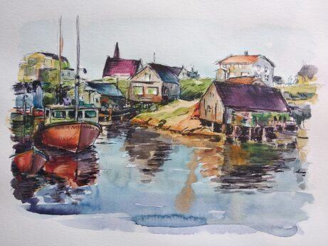 Hanka-Peggys Cove Nova Scotia3