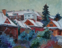 Zimní krajina-Hanka